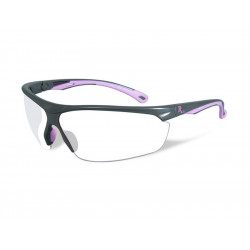 Goggles REMINGTON FEMALE industrial Clear lens/Grey pink frame