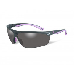 Goggles REMINGTON FEMALE industrial Smoke lens/Grey pink frame