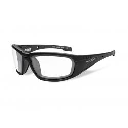 Brýle BOSS Clear lens/Matte black frame
