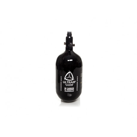 Ultrair HPA tank, 1.1 liter, 68 ci, 4500 psi carbon, incl. regulator