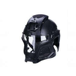 Wosport Medieval Iron Warrior Helmet ( Black )