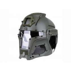 Wosport Medieval Iron Warrior Helmet ( OD )