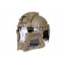 Wosport Medieval Iron Warrior Helmet ( TAN )