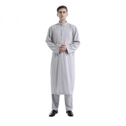 Afgánský oblek, šedivý, velikost M