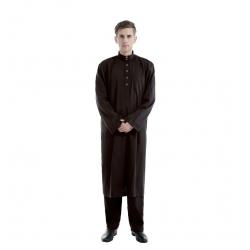Afgánský oblek, hnědý, velikost M