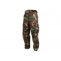 Pants rip-stop BDU WOODLAND, XS-Regular