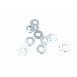 Vymezovací podložky pro osičky 4mm - 0,1mm