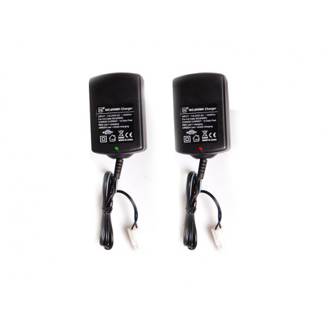 Auto-stop charger for 4-8 cells, 1000 mA, EU-version