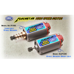 Hish speed motor - 3 ball bearing - long