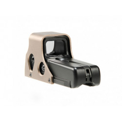 EX005 552 Red Dot Sight Replica, tan/black
