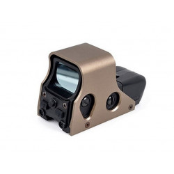EX005 551 Red Dot Sight Replica, tan/black