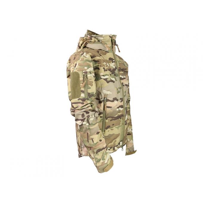Kids Softshell jacket PATRIOT camouflaged BTP, size 5-6 years