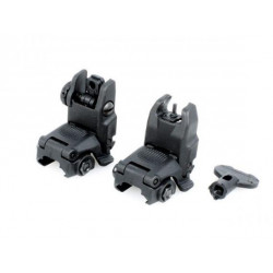Mechanical RIS sights MBUS Gen2 - BLACK, kopy