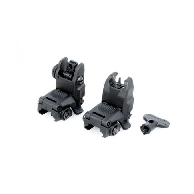 Mechanical RIS sights MBUS Gen2 - BLACK, kopy