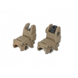 Mechanical RIS sights MBUS Gen2 - TAN, kopy