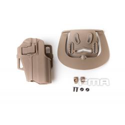 Opaskové plastové pouzdro - holster pro night/desert... warrior, pískové
