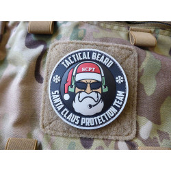 JTG TACTICAL BEARD SANTA CLAUS PROTECTION TEAM Patch, Special Edition