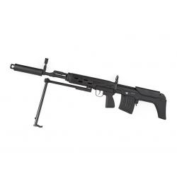 SVD-SVU/SWU Full Metal Bullpup Sniper Rifle AEG Black
