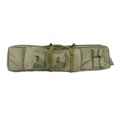 Twin assault rifle carrying bag - 62 and 120cm - OLIVE