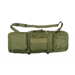 Twin assault rifle carrying bag - 58 and 80cm - OLIVE
