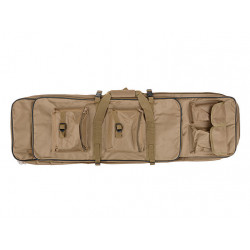 Twin assault rifle carrying bag - 65 and 96cm - TAN