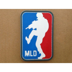 Patch PVC 3D gumový Major League Doorkicker MLD, barevný