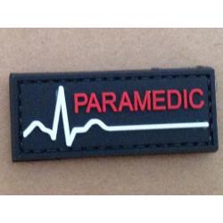 Patch PVC 3D gumový PARAMEDIC (text)