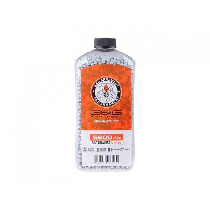 G&G Precision 0,30g 5600bb Bottle - Grey