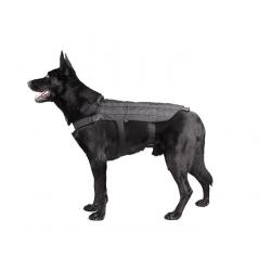 Tactical Dog Vest - Black, SIZE M