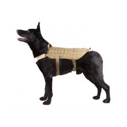 Tactical Dog Vest - TAN, SIZE M