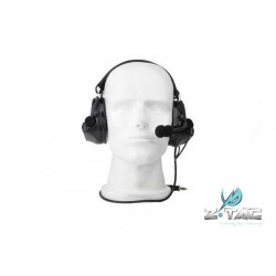 Z Tactical COM 2 Headset ( Mil. Standard Plug ) - Black