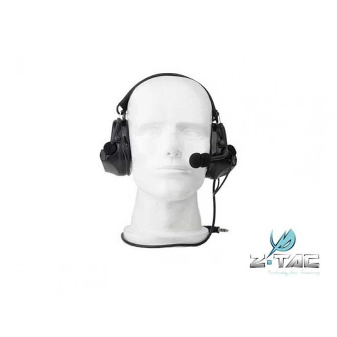 Z Tactical COM 2 Headset ( Mil. Standard Plug ) - Black