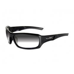 Brýle ECHO Light adjusting grey lens/Gloss black frame
