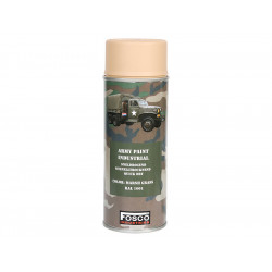 ARMY camouflage paint spray RAL 1001 BEIGE