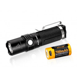 LED flashlight Fenix PD25 + CR123 700mAh
