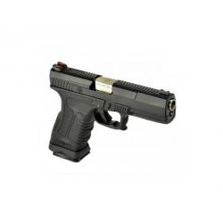 GP1799 T5 - GBB, metal black slide, black frame, silver barrel