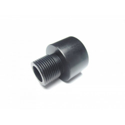 Aluminum Silencer Adapter ( 16mm Clockwise to 14mm Anti-Clockwise )