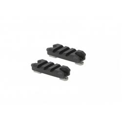 Plastová RIS lišta M-Lok (2kusy) - 3Slots