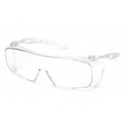 Ochranné brýle Cappture ES9910ST, nemlživé - čiré
