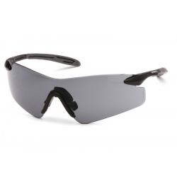 Ochranné brýle Intrepid II ESB8820S, nemlživé, černá obruba - tmavé
