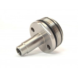 Stainless steel STRAIGHT cylinder head for VSR sniper rifles