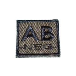ID. Blood Velcro AB-NEG - OD