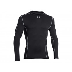 UA Men's Evo Coldgear Compression Hybrid New Mock, SIZE M