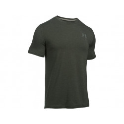 Under Armour CC Left Chest Lockup, GRN, SIZE M