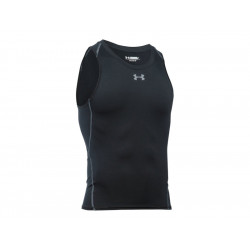 Under Armour Heatgear Compression Tanktop Black, SIZE M