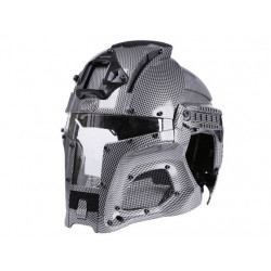 Wosport Medieval Iron Warrior Helmet ( Carbon Fiber )