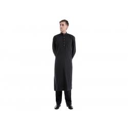 Afghan suit, black, size M