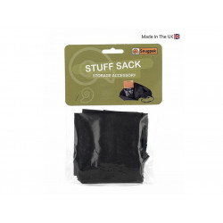 Compression Stuff Sack BLACK, SIZE M, 19x39cm