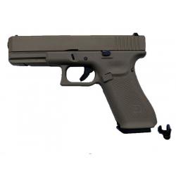R17 (G001VB-TAN) Gen5, metal slide, GBB, TAN