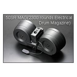 Zásobník pro G36 2300 ran, dvojbuben, elektrický